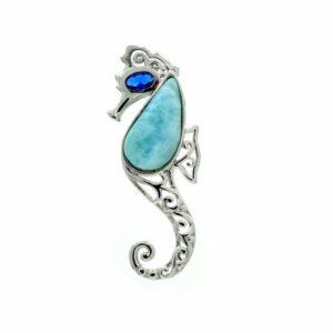 Larimar Seahorse